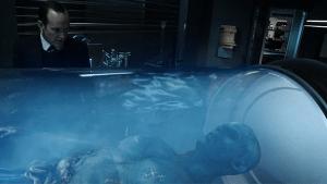 Der tote Kree im Zuge des T.A.H.I.T.I. Projekts.