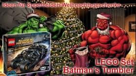 Ideen für Weihnachtsgeschenke | Lego Set Batman's Tumbler