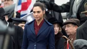 Wonder Woman | Setvideo vom Trafalgar Square