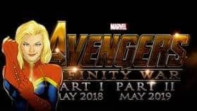 The Avengers – Infinity War | Captain Marvel ist mit dabei!