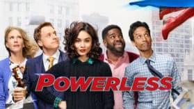 "Powerless | Superhelden-Comedy ""Powerless"" während 1. Staffel frühzeitig abgesetzt"