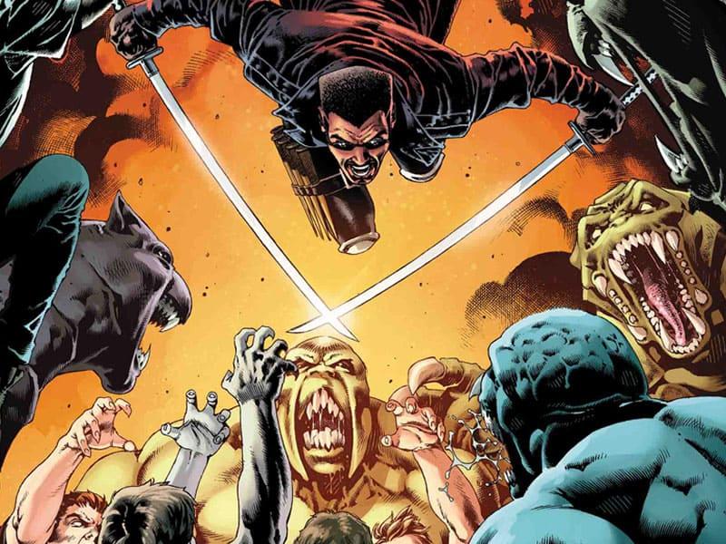 Blade (Eric Brooks) • Marvel Comics Charakter (Erde-616)