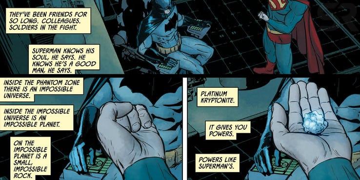 Batman Geschichtsbuch