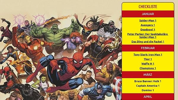 Marvel Comics Am 26 Januar Ist Marvel Tag Und Die Helden Starten